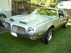 1972 Pontiac Firebird Formula 400 4spd M22 PHS Documented Numbers Matching