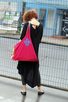bag BOHO EVE, casual bag, embroidered