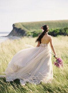 Samuelle Couture Wedding Dresses - Jose Villa Photography: