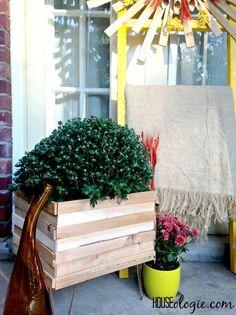 diy copper wood planter, crafts, diy, gardening, home decor
