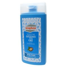 SoapBox Argan Oil Shampoo - 13.5 oz The next product I want to try on my hair.