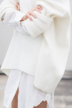 soft + texture + white// Jane Ramsay #inspiration [Instagram @janeramsayfashion]