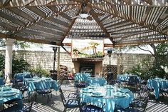Luce S Patio Set Up W Tables But I This Is Where We Would Have The Ceremony Janet Martin Best Of San Antonio Restaurants