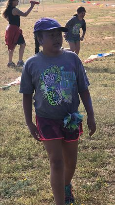 Scarlett after her color run!