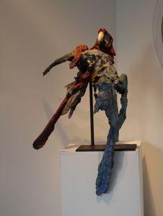 GAMBINO Queen Images, Les Oeuvres, Sculpture, Birds, Terracotta, Artists, Color, Sculptures, Sculpting
