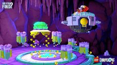 """He sure puts the """"Egg"""" in """"Easter Egg"""". Find the Hidden Palace Zone in the #SonicTheHedgehog Level Pack! #LEGODimensions #BreakTheRules"""