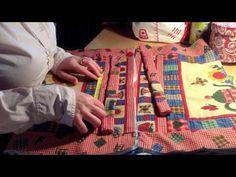 DIY-Neceser Valisette Acolchada | Chic labores - YouTube