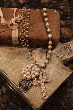 Truly Blessed Necklace by HaveFaithDesigns on Etsy