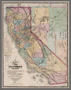 "HP 20/"" x 24/"" 1867 Map Of Alabama /& Tensessee River Rail Road"