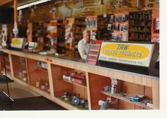 www.contractorsales.biz768 × 544Search by image Dale standing behind the counter of one of his auto parts stores in the 1970s