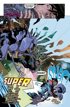 Preview: Superboy: Futures End #1, Page 2 of 5 - Comic Book Resources