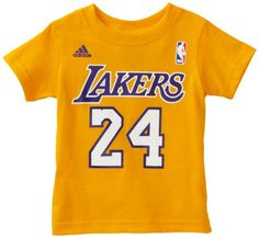 9a63cc2cd1a NBA Boys Los Angeles Lakers Kobe Bryant Short Sleeve Name   Number Tee -  R6A3St-