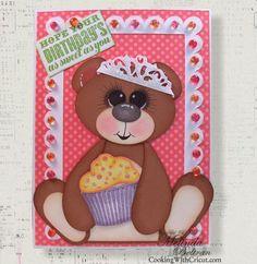 artiste bear650  How cute is this bear made with the new CTMH artiste cricut cartridge!!!