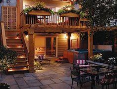 Remodelando la Casa: Second Story Deck Ideas for Your Backyard