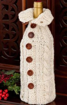 1000+ images about Crochet Water Bottle,Wine Bottle,Can Cozies on Pinterest ...