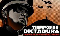 Tiempos de Dictadura. Documental sobre la dictadura de los años 50 en venezuela ejercida por Marcos Pérez Jiménez. Carlos Oteyza dirige la película. Venezuela. Cine venezolano