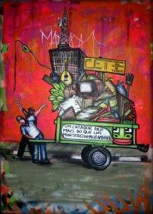 Mundano, a Brazilian artist