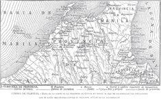 Spanish map pf the Cavite war front, Philippine-American War, Emilio Aguinaldo, Fort Santiago, Jose Rizal, Filipino Culture, Bataan, American War, Spanish Colonial, Learning Spanish, Philippines