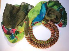 Зеленые шарфики