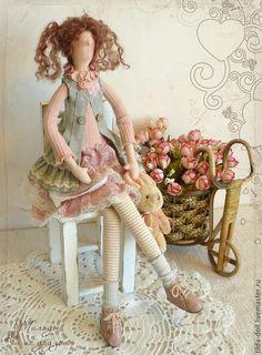 Купить Кукла Тильда: Ника - тильда, кукла Тильда, куклы тильды, текстильная…
