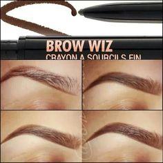 Anastasia Brow Wiz pencil. Dark Brown