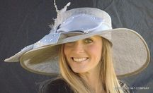 Kentucky Sophisticated Satin & Straw Hat for the Derby