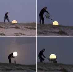 moon gardening. So creative.