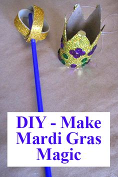 Scepter craft for Esther Bible Story.