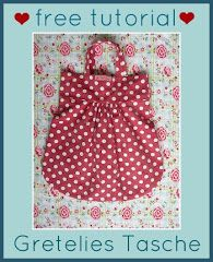 bags from Gretelies, free tutorial