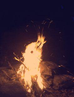 Cuddle around the fire