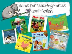 Books for Teaching Forces and Motion (from Ginger Snaps)