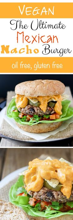 The Ultimate Mexican Nacho Burger