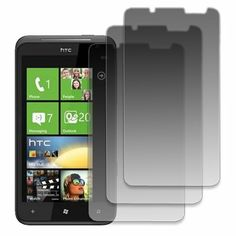 EMPIRE AT&T HTC Titan 3 Pack of Matte Anti-Glare Screen Protectors