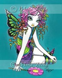 "Shop ""Crystal"" Candy Rainbow Fairy Postcard created by mykajelina. Free Cross Stitch Charts, Dmc Cross Stitch, Fantasy Cross Stitch, Cross Stitch Letters, Cross Stitch Books, Cross Stitch Samplers, Cross Stitching, Cross Stitch Stocking, Rainbow Fairies"