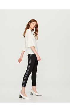LADIES` TROUSERS, Trousers, black, RESERVED