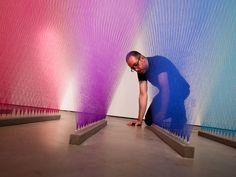 arte ref » Fios e cores de Gabriel Dawe