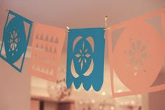 Party Decorations: Confetti Balloons and DIY Papel Picado