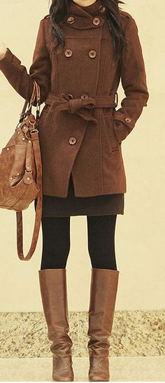 I love everything about this! - perfect fall and winter outfit