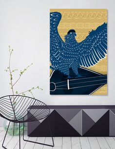 Discover «Pride of Creete_Poster», Numbered Edition Canvas Print by David Haralambidis - From 45€ - Curioos