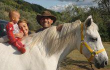 Horse riding, Tuscany, Italy (also swimming pool, tennis & mountain biking)