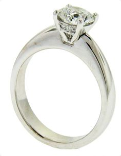 Diamond Solitaire Ring - Brisbane Jeweller - Engagement Rings - MONTASH Jewellery Design - www.montash.com.au