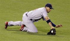 Game 2 of the NLCS- Jon Jay with another brilliant catch  10-15-12