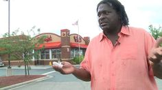 James Minor is not pleased with the way he was treated by Bojangles' (WTVR)
