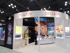 Decleor booth at #IBSNY