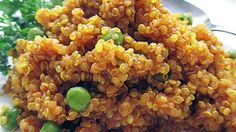 A light curry flavor makes delicious quinoa a great side dish for a multitude of main courses.