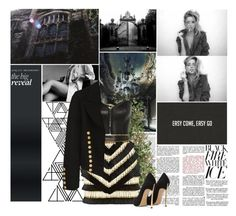 """I get stronger with every step, come hell, come high water, you push on me, I'm gonna push back harder. I got a whole lot more than a little bit left, so don't put dirt on my grave just yet."" by vicky-carter ❤ liked on Polyvore featuring Diane James, Crate and Barrel, OKA, Balmain, Kiki de Montparnasse, Yves Saint Laurent, Casadei, women's clothing, women's fashion and women"