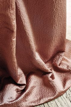 A chic and sophisticated hammered satin, Struma coordinates with pattern Sava from Stroheim's Ambiance II collection.