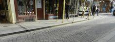 Herringbone cobbles, Leominster High Street
