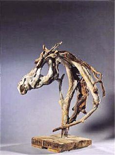 Paard drijfhout