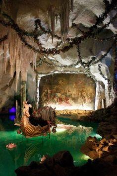 The Grotto at Schloss Linderhof, Bayern, Deutschland